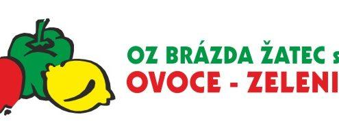 Logo OZ BRÁZDA ŽATEC s.r.o. OVOCE – ZELENINA